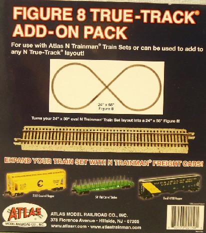 2150 True-Track Add on Pack (N SCale)