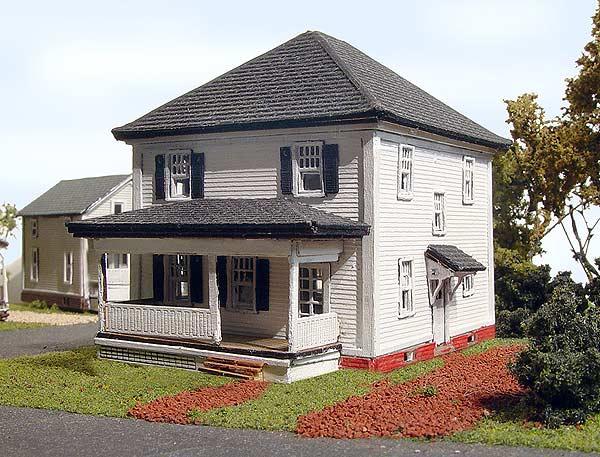 821 N Albion House N Scale