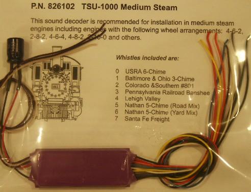 826120 TSU1000 Tsunami Light Logging Steam