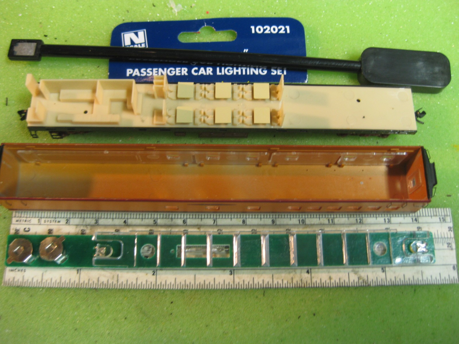N Scale FVM Hiawatha Combo baggage car