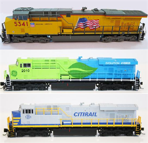 FVM N Scale UP, CitiRail, GE Evolution