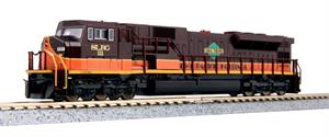 KOBO N SLRG Iowa Pacific SD90/43 Custom Paint Kato