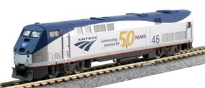 Kato N Scale P42 Amtrak 50th Anniversary