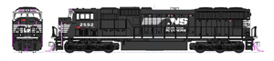 Kato SD70M Norfolk Southern N Scale