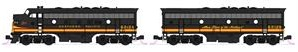 Kato N Scale F7 2 Diesel Set GN NP