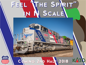 Kato N Spirit of Union Pacific SD70