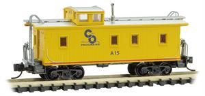 C&O Wood Caboose Micro-Trains