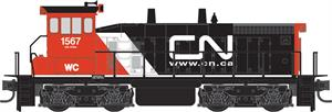 MicroTrains N SCale SW1500 Canadian National