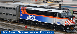 Metra New Paint F40PH Kato N