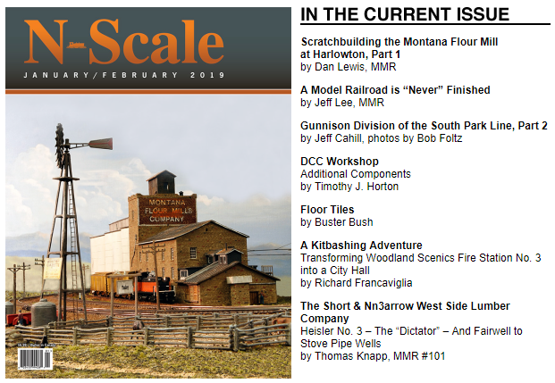 N Scale Magazine January February 2019