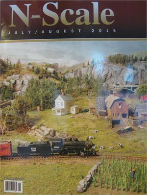 N scale Magazine July August 2015