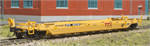 N Scale 40' Well Car