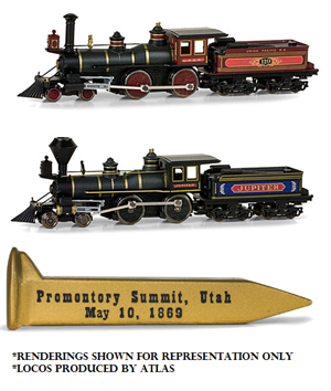 MT Golden Spike N Scale