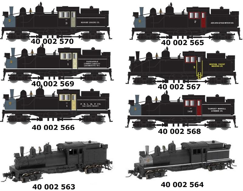 Shay Steam Loco ***Pre-Order - ETA 2016 *** 2nd Release