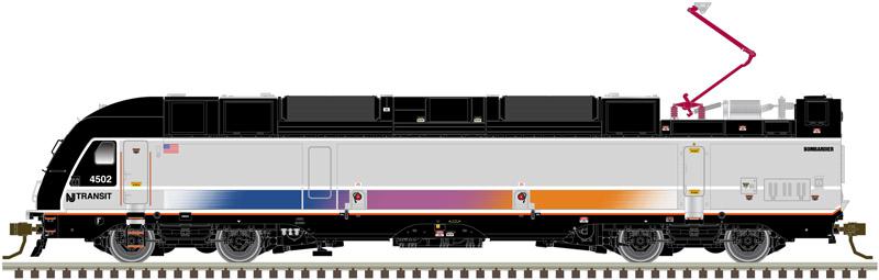 ALP-45DP NJ Transit Modern Commuter Train - Atlas HO Scale