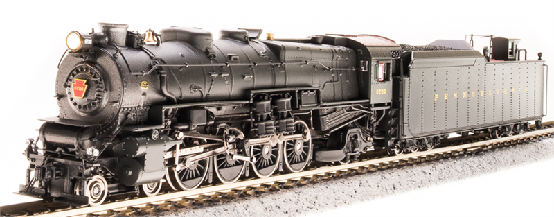 Pennsylvania Railroad M1a M1b 4-8-2 Steam Locomotive PRR