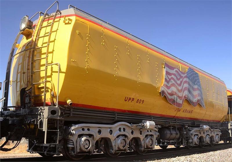 NEW Kato  N Gauge 106-085 Union Pacific Water Tender Set 2