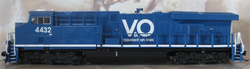 70117 GE ES44AC GEVO Virginian & Ohio 4432 (N Scale)