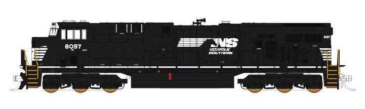 FVM: N Scale 70464 GE ES44AC GEVO Norfolk Southern 8106