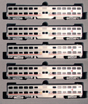 Kato/Kobo CalTrain 5 Bi level set