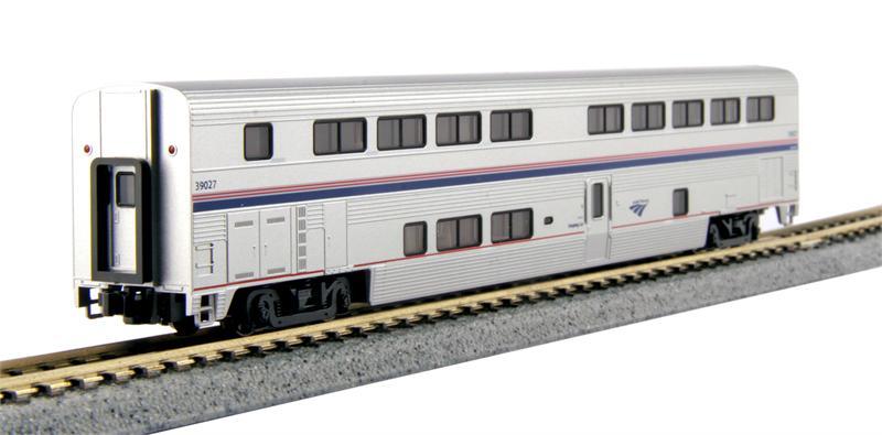 Kato n scale amtrak superliner starter set