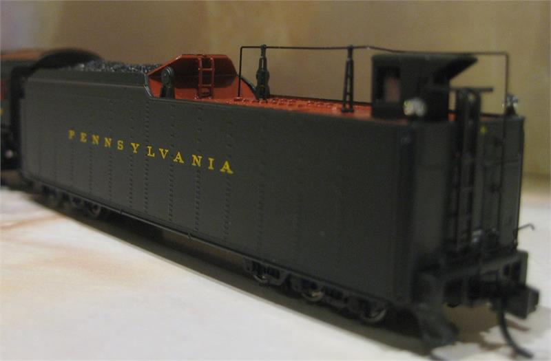 3079 M1b Post War 4-8-2 PRR 6755 Steam Loco Limited Edition N Scale
