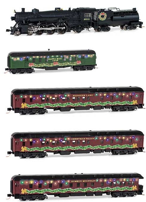 993 21 200 Home for the Holidays' Christmas Set Train Set N Scale