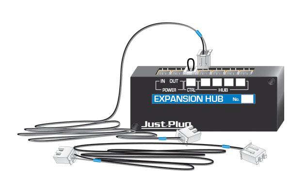 5702 just plug lights expansion hub
