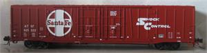 60' BX-166 Beer Car ATSF (N Scale) BLMA