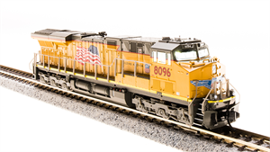 UP GE ES44AC GEVO Paragon3 Sound DC/DCC