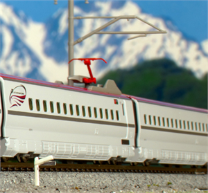 "10-1567 Series E6 Shinkansen ""Komachi"" ADD ON - NON Powered Coach Set (4 Cars) - N Scale Japanese Prototype"