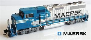 FVM Maersk GP60M Diesles Light Blue Paint