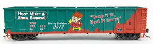 8943 FVM 2018 Christmas Car - Heat Miser - FVM N Scale