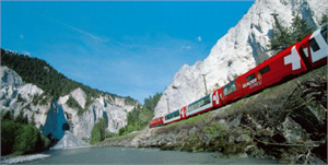 Kato N Scale Glacier Express Set