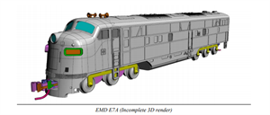 Draft Pictures Kato E7 A N Scale