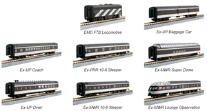 Kato 106-102 CN Transcontinental 7 Car Set