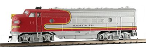 87440 FP7 Santa Fe - N Scale Model Power