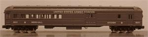 88641 Harriman Combine Passenger Car - US Army - N Scale
