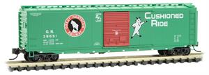 031 00 530 50' standard box car - Great Northern 39651 - N Scale