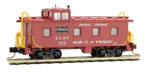 100 00 420 36' Caboose - Frisco SLSF 108 - N Scale