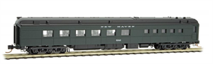 146 00 100 Heavyweight Diner Car - New Haven 5242 - N Scale