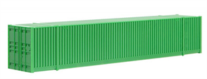 469 00 003 53' Undecorated Container - Green - N Scale