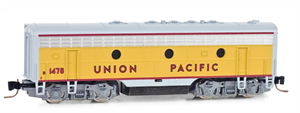 Z Scale 980 02 010 F7 B -Union Pacific B Unit