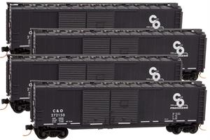 993 00 122 C&O Box Car Runner Pack
