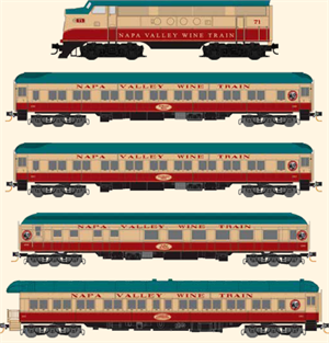 MicroTrains 993 01 430 Napa Valley Wine Train N