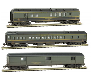993 05 360 Weathered 3 car passenger set - Canadian National (N Scale)