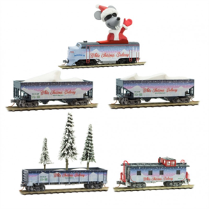 MicroTrains 993 21 280 White Christmas Delivery Train - N Scale