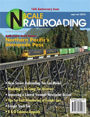 N Scale Railroading September October 2016
