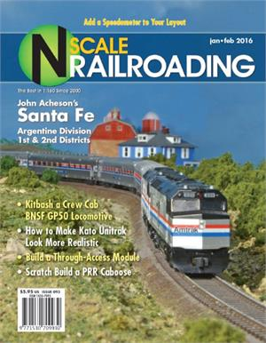 Jan Feb N Scale Railroading 2016
