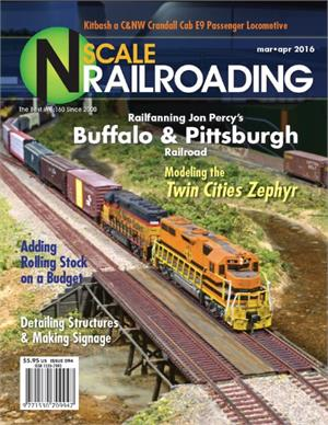 N Scale Railroading March April 2016